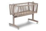 PPM Бебешко легло-люлка Mikkel (бяло)